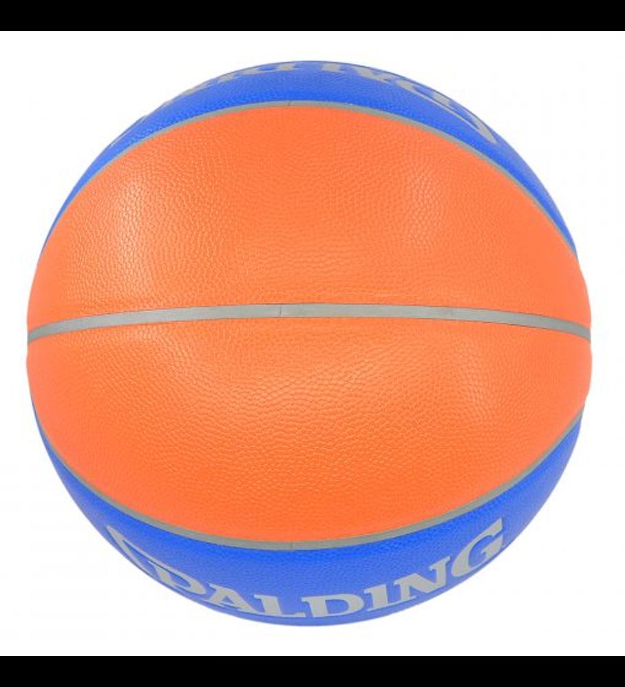 Balón Basketball Cross Over All Surface Orange Blue