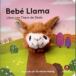 BEBE LLAMA (TÍTERE DE DEDO)
