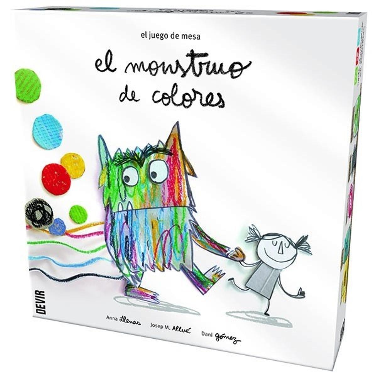 JDM MONSTRUO DE COLORES JUEGO DE MESA