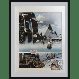"""""""LA BOUSSOLE Y  L'ASTROLABE"""" El viaje de La Perouse (AFICHE)"""