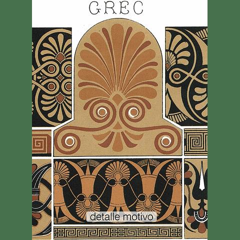 ARTE ANTIGUEDAD GRIEGO (LAMINA)