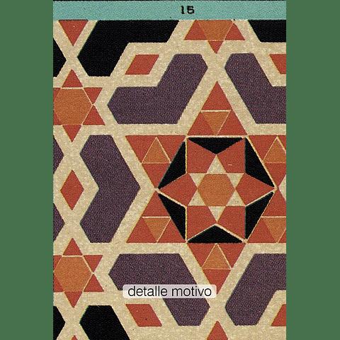ARTE EDAD MEDIA - MOSAICO (LAMINA)