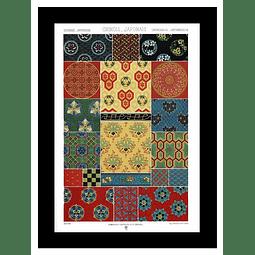 ARTE ORIENTE SINO JAPONES Ornamento Corriente (LAMINA)