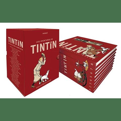 TINTIN BOX (ESTUCHE CON 8 VOLUMENES)