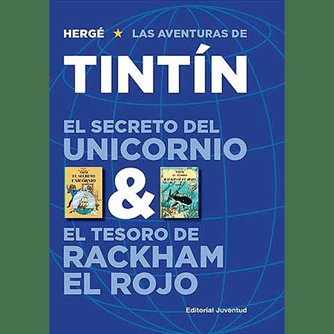 TINTIN : EL SECRETO DEL UNICORNIO ;  EL TESORO DE RACKHAM EL ROJO