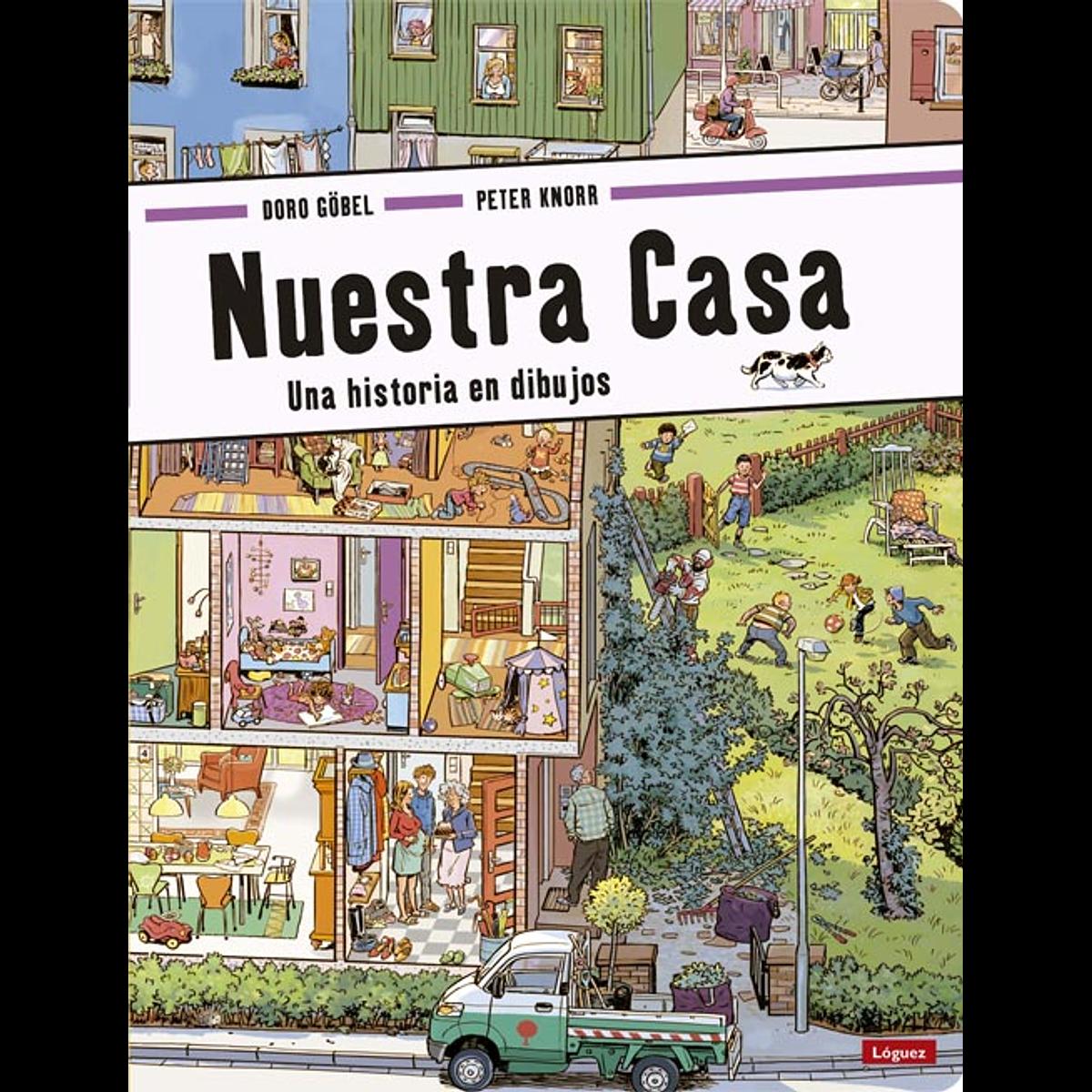 NUESTRA CASA : UNA HISTORIA DE DIBUJOS