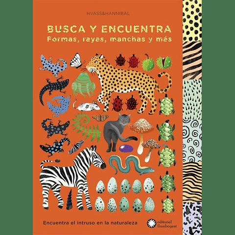 BUSCA Y ENCUENTRA FORMAS, RAYAS, MANCHAS Y MAS