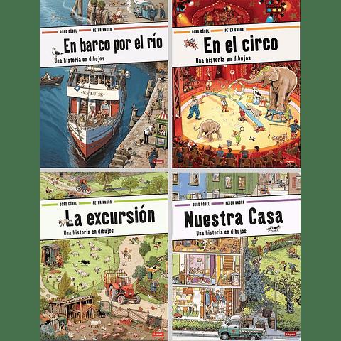 EN EL CIRCO : UNA HISTORIA EN DIBUJOS