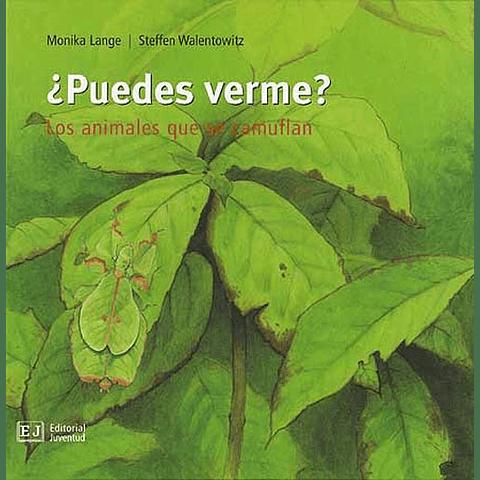 PUEDES VERME? : LOS ANIMALES QUE SE CAMUFLAN