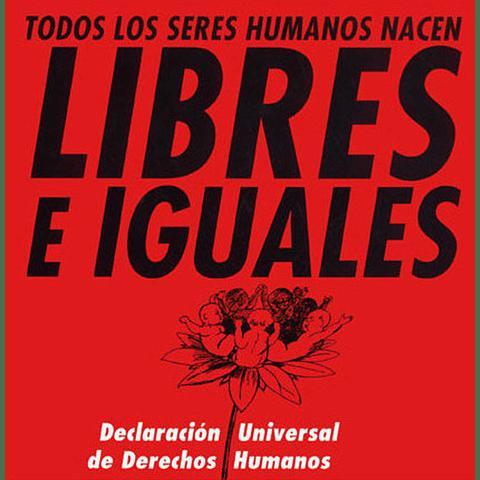 LIBRES E IGUALES : TODOS LOS SERES HUMANOS NACER