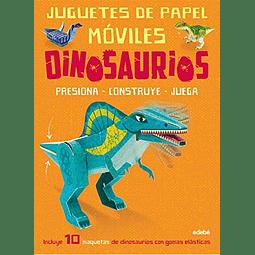 JUGUETES DE PAPEL MOVILES : DINOSAURIOS