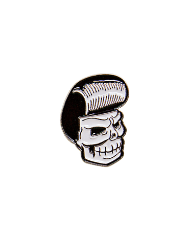 Pin Mascot Head Suavecito