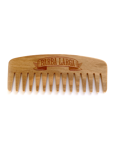 Peine Madera Nº 9 Cherry Barba Larga