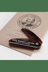 Peine Pocket Moustache 87T Captain Fawcett