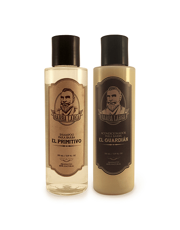 Shampoo + Acondicionador Barba Larga 120 ML