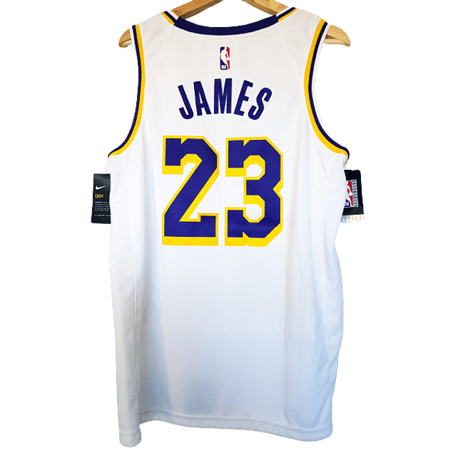Camiseta LeBron James Association Edition Swingman (Los Angeles Lakers)