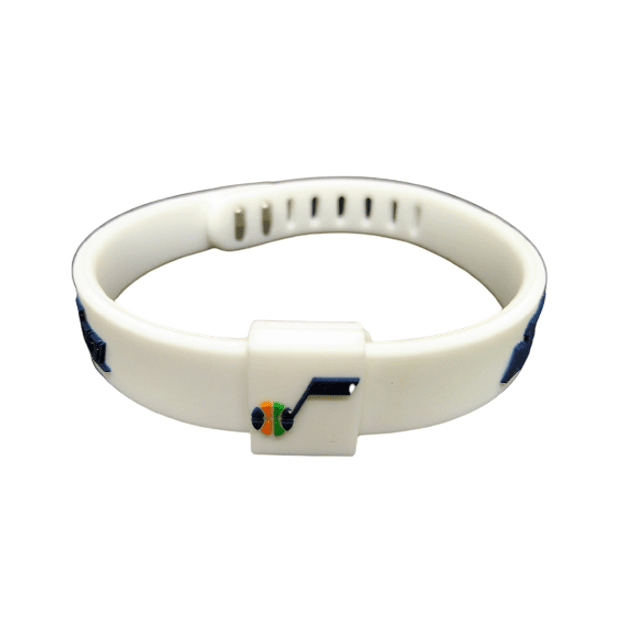 Pulseras silicona ajustable EQUIPOS NBA