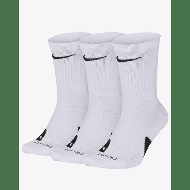 Calcetines Nike Elite Crew - Pack de 3 pares