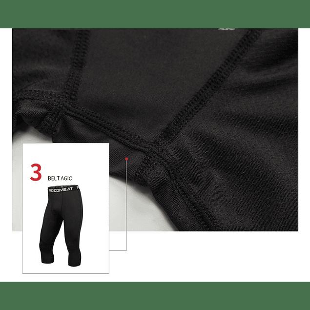 Calzas 3/4 de compresión Pro Combat