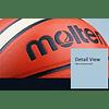 Balón de Basketball Molten GG7X de cuero n° 7