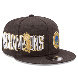 Gorro Snapback New Era Golden State Warriors Champions 17'