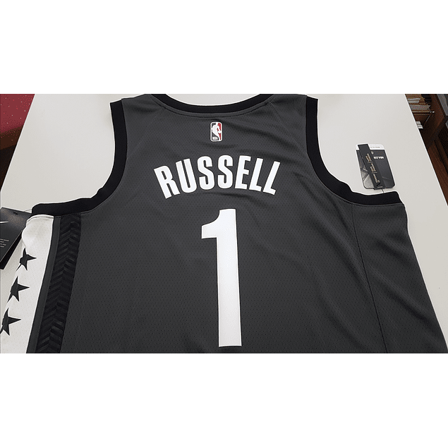 Camiseta D'Angelo Russell Statement Edition Swingman (Brooklyn Nets)