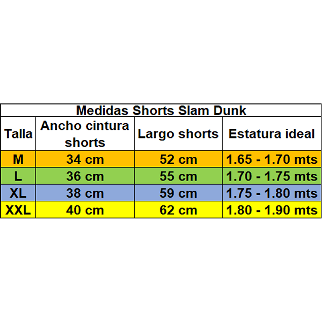 Shorts Slam Dunk Shoyo