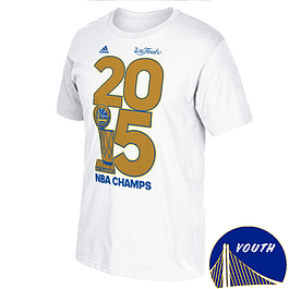 Polera NIÑO Golden State Warriors Adidas Golden Year
