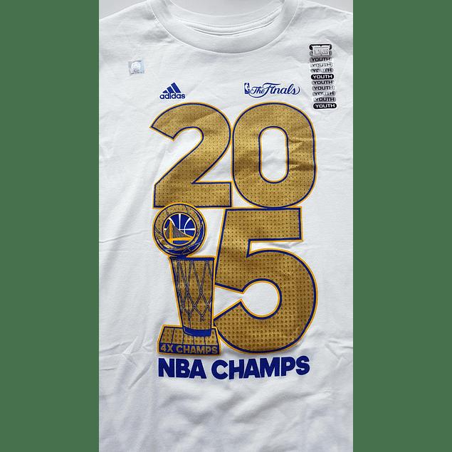 Polera NIÑO Golden State Warriors Adidas Golden Year