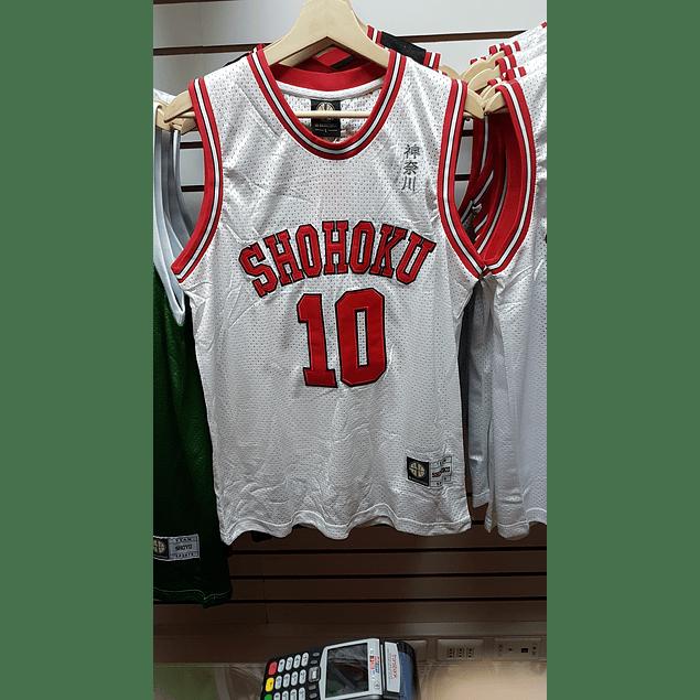 Camiseta Slam Dunk Sakuragi Shohoku (Bordada)