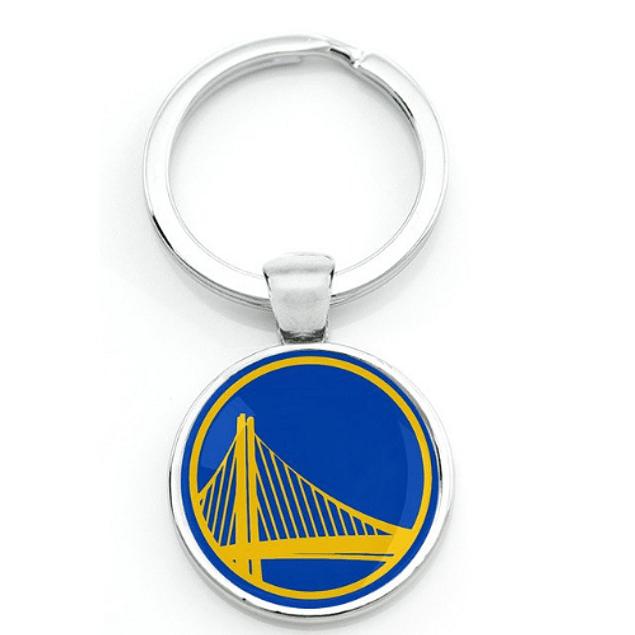 Llaveros NBA color plástico/metal