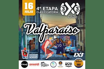 COMPETENCIA BASKETBALL FIBA 3X3 - VALPARAISO 16 JULIO