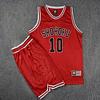 Conjunto (Camiseta + Shorts) Slam Dunk Sakuragi Shohoku (estampada)