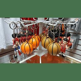 Llavero Balón Basketball goma eva