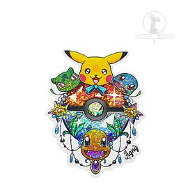 Sitcker Holografico Pokemon