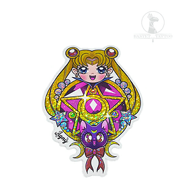 Sitcker Holografico Sailor Moon