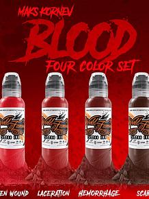 Set World Famous - Maks Kornev's Blood Color Set
