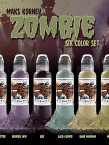 PREVENTA - Set World Famous - Maks Kornev's Zombie Color Set