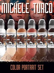 PREVENTA - Set World Famous - Michele Turco Color Portrait Set