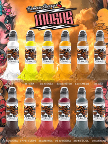 Set World Famous - Debora Cherrys Musas Ink Set