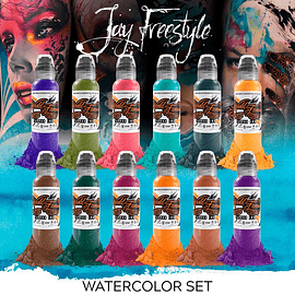 PREVENTA - Set World Famous - Jay Freestyle Watercolor Ink Set