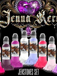 Set World Famous - Jenna Kerr's Jenstones Color Set