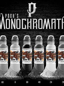 Set World Famous - Poch Monochromatic