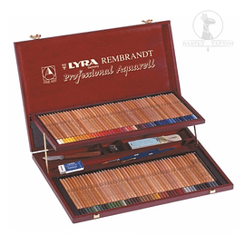 Maleta Profesional de lápices Aquarell LYRA 106