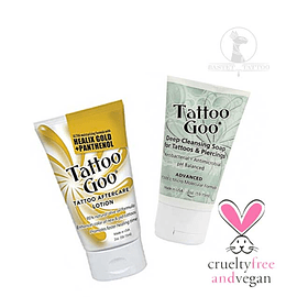 Pack de Cuidado Vegan Tattoo Goo Aftercare
