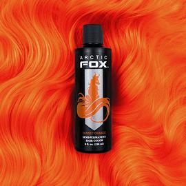 Sunset Orange 4oz - Arctic Fox Semi-Permanent Hair Colors