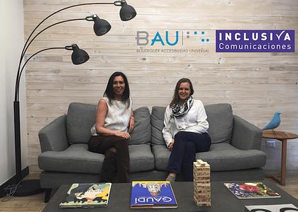 BAU Accesibilidad e Inclusiva Comunicaciones juntos para comunicar sobre Inclusión y Accesibilidad