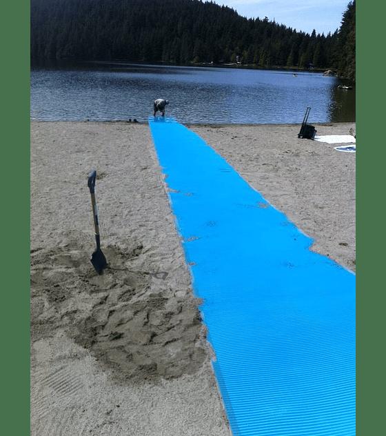 Pasarela de playa o senderos AccessMat
