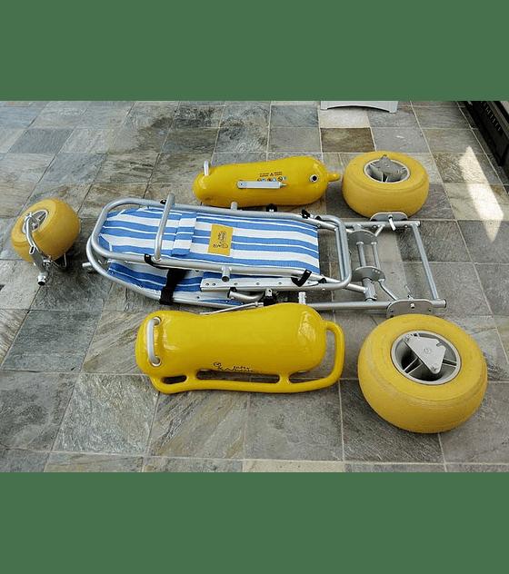 Silla Anfibia para entornos naturales WaterWheels®
