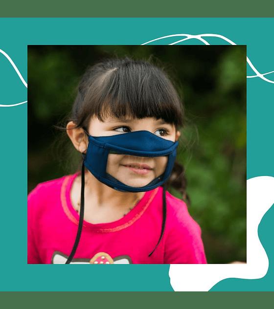 Mascarilla Inclusiva Certificada para niños y niñas